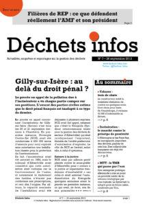 Déchets Infos n° 7 — 26 septembre 2012