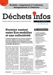Déchets Infos n° 20 — 3 avril 2013