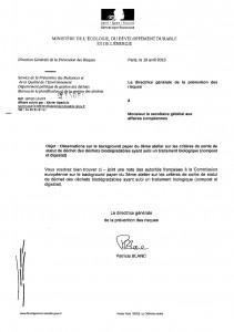 Statut des composts : le ministère de l'Ecologie corrige le JRC