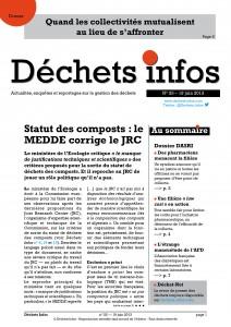 Déchets Infos n° 25 — 19juin 2013