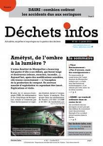 Déchets Infos n° 27 — 17 juillet 2013