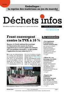 Déchets Infos n° 32 — 23 octobre 2013