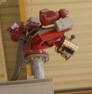 Les canons à eau peuvent être asservis à des caméras ou à des détecteurs thermiques.