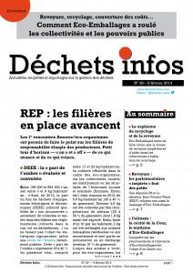 Déchets Infos n° 39 — 5 février 2014