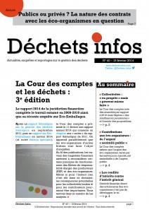Déchets Infos n° 40 — 19 février 2014