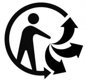 Pour informer sur l'existence d'une consigne de tri, le ministère de l'Ecologie soutient le projet de logo Triman.