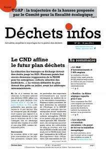 Déchets Infos n° 48 — 18 juin 2014