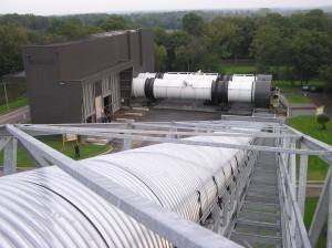 L'usine de TMB-compostage de Launay-Lantic (Côte-d'Armor) a donné un coup de vieux aux usines de tri-compostage à l'ancienne.