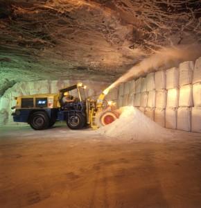 """La valorisation des Refiom en mines de sel (ici à hattorf) est sensiblement moins chère que le stockage en """"classe1""""."""