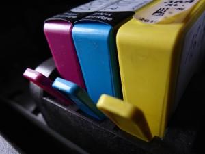 Les cartouches d'imprimantes à jet d'encre sont bien moins récupérées que celles des imprimantes laser.