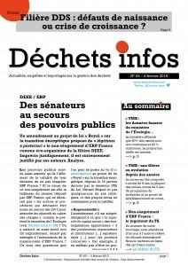 Déchets Infos n° 62 — 4 février 2015