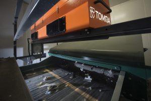 Tomra trie l'organique <br/>en infrarouge et aux rayons X