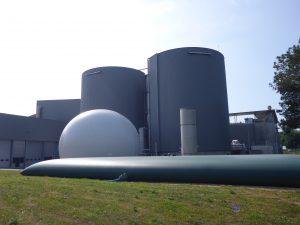 Les usines de TMB permettent en l'état de valoriser deux fois plus de matière organique que la collecte séparée des biodéchets. Ici, l'usine de Bayonne, conçue et exploitée par Urbaser.