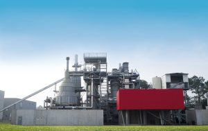 L'usine CHO Power de Morcenx pyrogazéifie des CSR (combustibles solides de récupération).