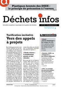 Déchets Infos n° 102 — 2 novembre 2016