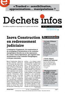 Déchets Infos n° 103 — 16 novembre 2016