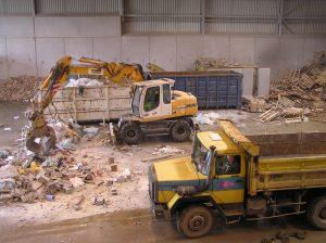Un centre de tri de déchets des activités économiques de Coved. Cette activité est minoritaire chez Coved, qui réalise plus des deux tiers de son chiffre d'affaires dans le secteur des déchets ménagers.