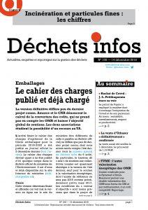 Déchets Infos n° 105 — 14 décembre 2016