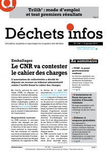 Déchets Infos n° 106 — 4 janvier 2017