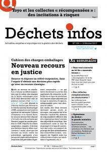 Déchets Infos n° 109 — 15 février 2017