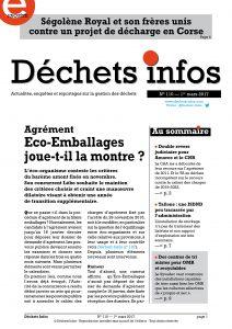Déchets Infos n° 110 — 1er mars 2017