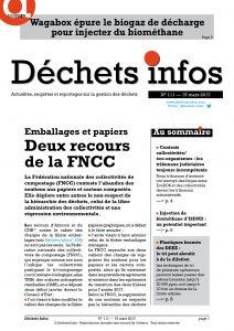Déchets Infos n°111 — 15 mars 2017
