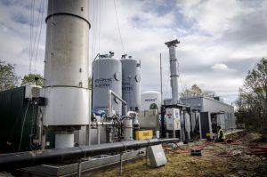 Wagabox épure le biogaz de décharge pour injecter du biométhane
