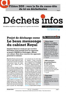 Déchets Infos n°113 — 19 avril 2017