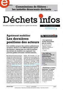 Déchets Infos n°117 — 14 juin 2017