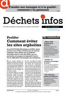 Déchets Infos n° 118 — 28 juin 2017