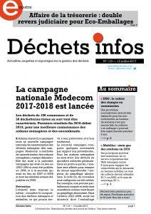 Déchets Infos n° 119 — 12 juillet 2017