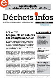 Déchets Infos n° 120 — 30 août 2017
