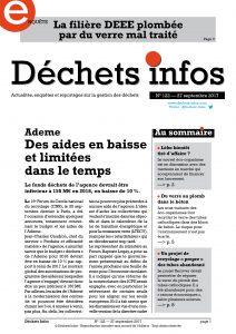 Déchets Infos n° 122 — 27 septembre 2017