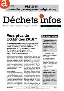 Déchets Infos n° 123 — 11 octobre 2017