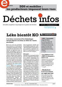 Déchets Infos n° 127 — 6 décembre 2017