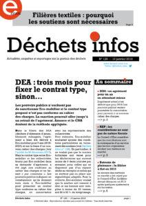 Déchets Infos n° 129 — 10 janvier 2018
