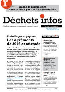 Déchets Infos n° 139 — 6 juin 2018