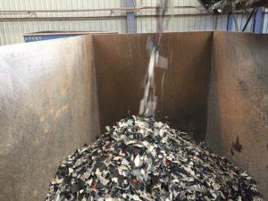 Plastiques bromés : des tonnes de RFB POP sont recyclées