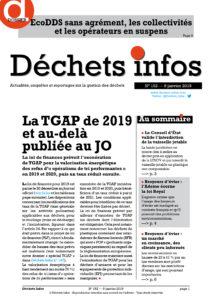 Déchets Infos n° 152 — 9 janvier 2019