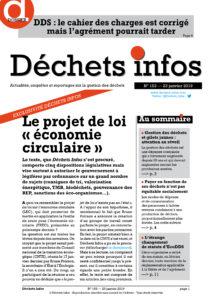 Déchets Infos n° 153 — 23 janvier 2019
