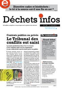 Déchets Infos n° 159 — 17 avril 2019