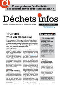 Déchets Infos n°165 — 17 juillet 2019
