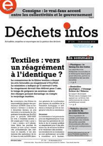 Déchets Infos n° 174 — 18 décembre 2019