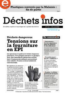 Déchets Infos n° 183 — 29 avril 2020