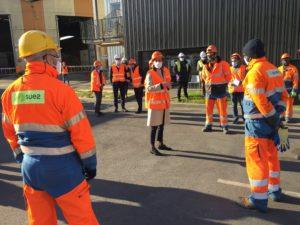 Brune Poirson à Limeil-Brévannes: un petit coup de com' et puis s'en va
