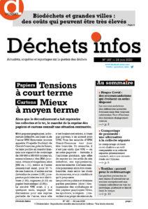 Déchets Infos n°187 — 24 juin 2020