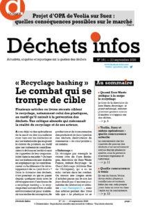 Déchets Infos n° 191 — 23 septembre 2020