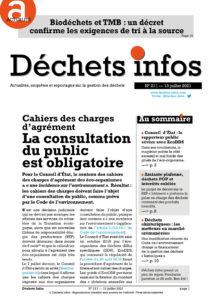 Déchets Infos n° 211 — 13 juillet 2021