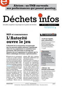 Déchets Infos n° 107 — 18 janvier 2017